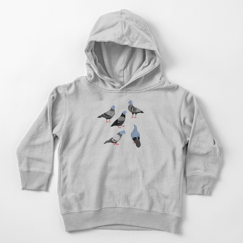 Design 33 - The Pigeons Toddler Pullover Hoodie