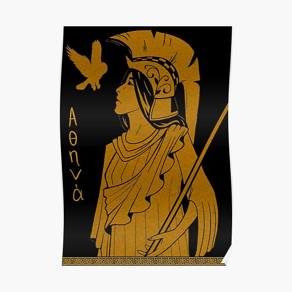 Ancient Greek Athena Poster