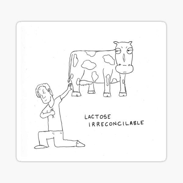 Lactose Irreconcilable Sticker