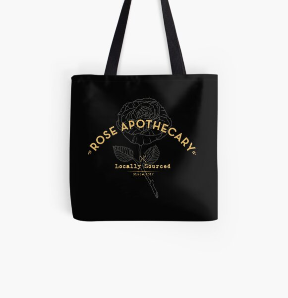 Dark Rose Apothecary All Over Print Tote Bag