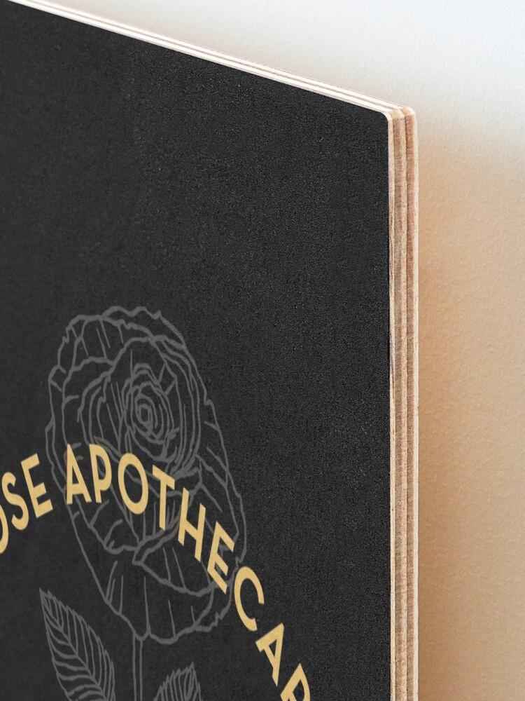 Alternate view of Dark Rose Apothecary Mounted Print