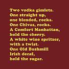 Zwei Wodka-Kännchen von Plan8
