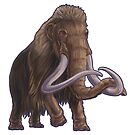 Mammuthus primigenius (Woolly Mammoth) by Sean Closson