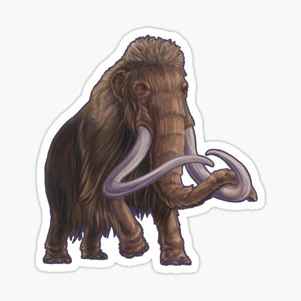 Mammuthus primigenius (Woolly Mammoth) Sticker