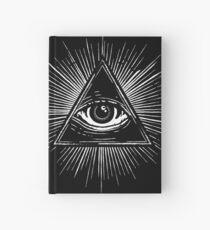 Illuminati Occult Pyramid Sigil Hardcover Journal
