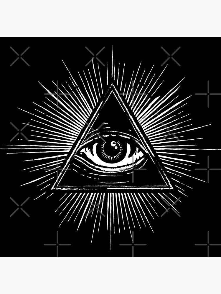 Illuminati Occult Pyramid Sigil by forge22