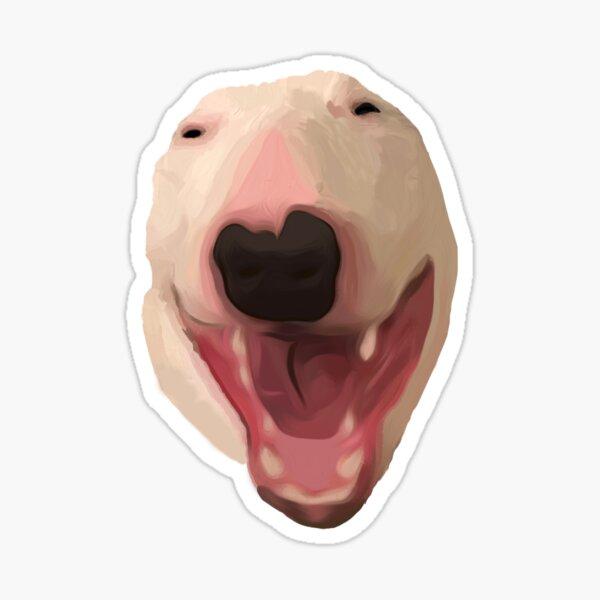 @PupperNelson: Scream Face Sticker