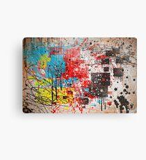 Abstract, Splatter, Paint, Print, Thrown paint, jackson pollock, painting, art, picture, poster, drip, aged, expressionist, pop art, liquid, action, joe badon Metal Print