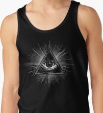 Illuminati Occult Pyramid Sigil Tank Top