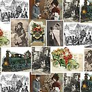 Victorian Christmas Collage by GUTHRIE TERRITORIAL FOUNDATION