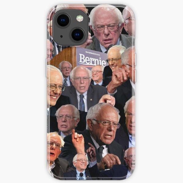Bernie Sanders Collage iPhone Soft Case