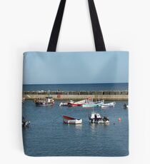 Tranquil harbour scene Tote Bag