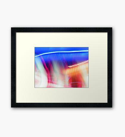 Blue Topped Framed Print