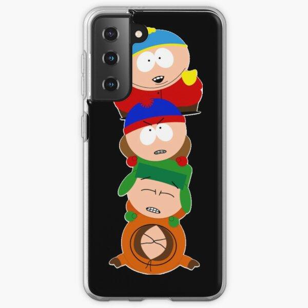South park - Eric Cartman, Kyle Broflovski, Stan Marsh, Kenny McCormick - Pill up Samsung Galaxy Soft Case