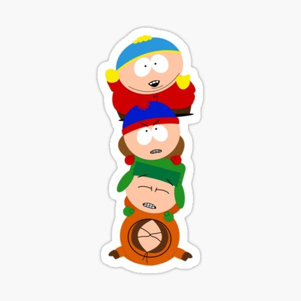 South park - Eric Cartman, Kyle Broflovski, Stan Marsh et Kenny McCormick - Prenez le pill-up Sticker
