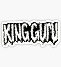 King Guru Drippy Letters Sticker