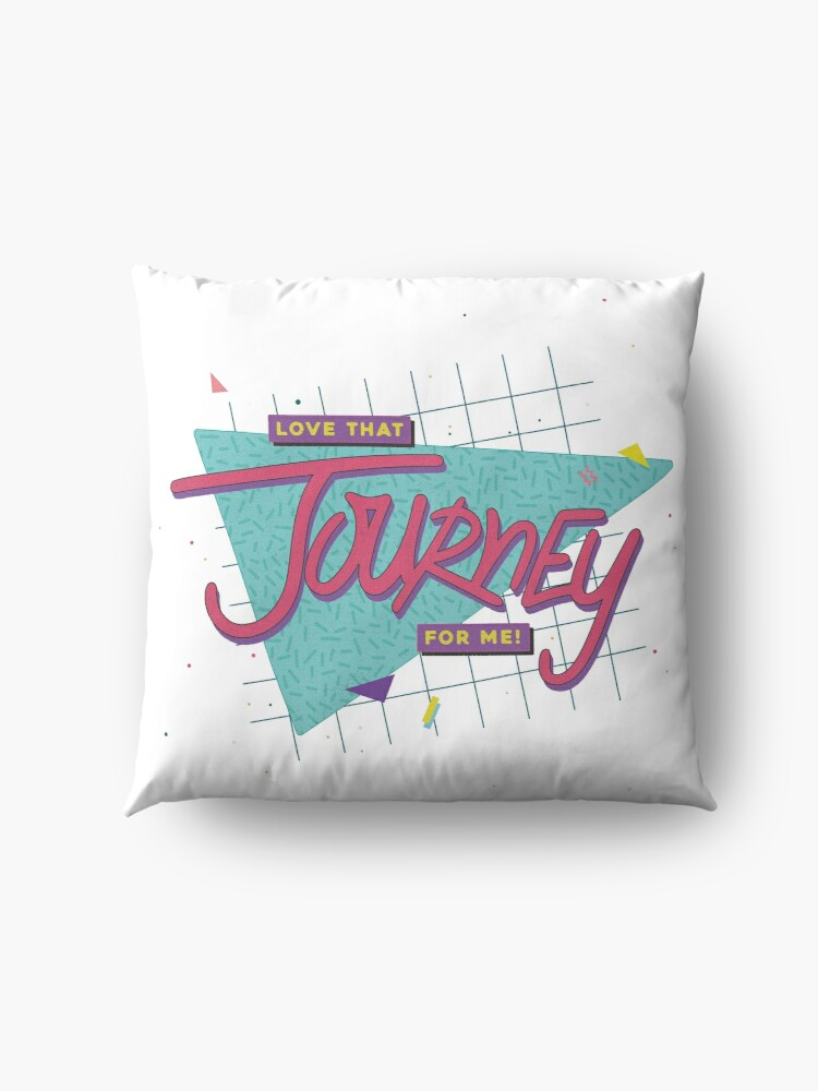 Alternate view of Love That Journey For Me Floor Pillow