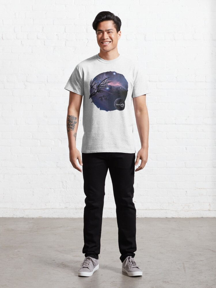 Alternate view of Space Dragons Classic T-Shirt