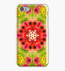 Echinacea garden iPhone Case/Skin