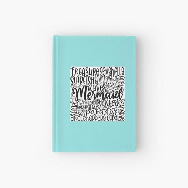 Mermaids Ocean Design Hardcover Journal