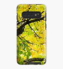 Fall Leaves in California Case/Skin for Samsung Galaxy