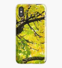 Fall Leaves in California iPhone Case