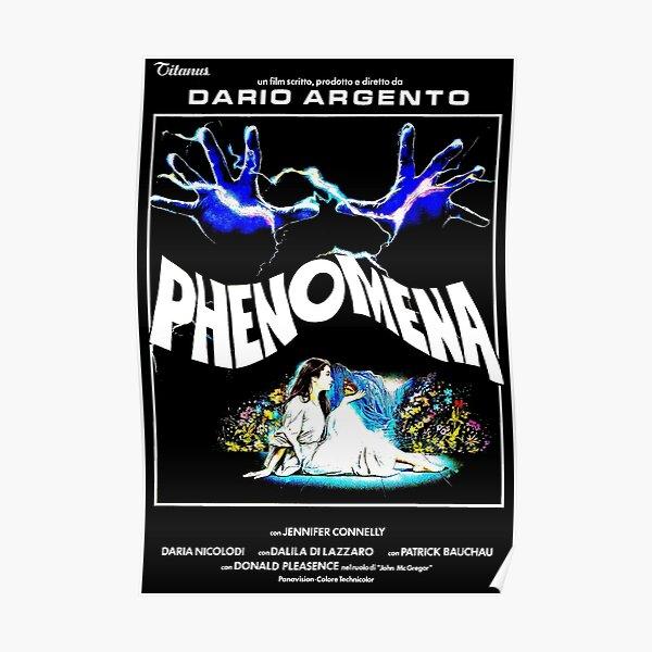 PHENOMENA 1985 HORROR MOVIE! Poster