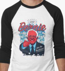 Bernie Sanders Revolution Men's Baseball ¾ T-Shirt