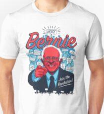 Bernie Sanders Revolution Slim Fit T-Shirt