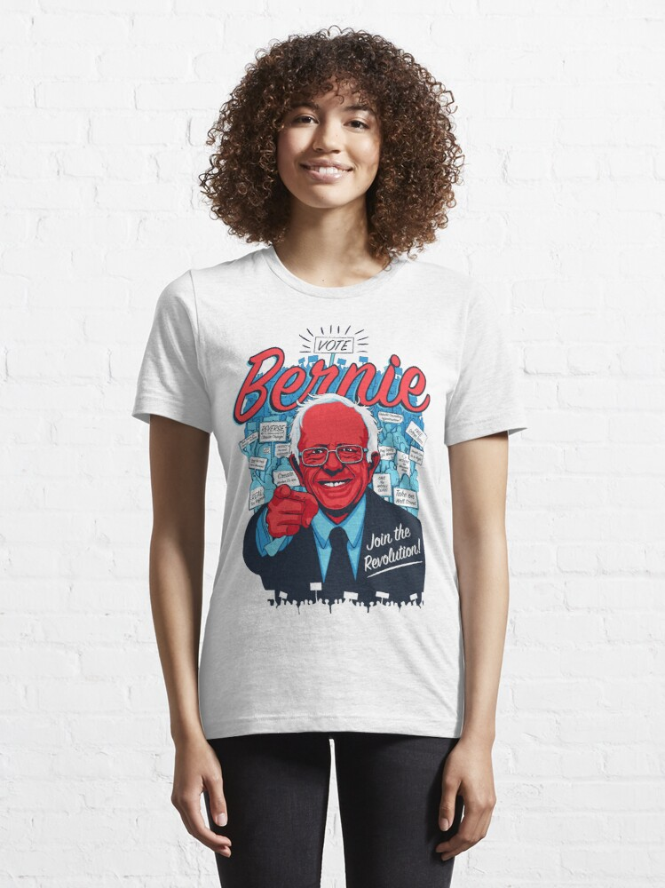 Alternate view of Bernie Sanders Revolution Essential T-Shirt