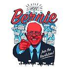 Bernie Sanders Revolution by Brian Crim