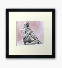 David Swenson-Ardha Matsyendrasana Framed Print