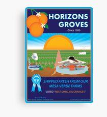 Horizons Groves Canvas Print