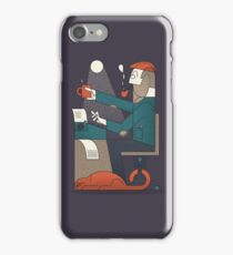 The Typing Man iPhone Case/Skin