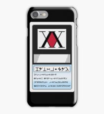 HUNTER LICENSE For Iphone - Hunter x Hunter  iPhone Case/Skin