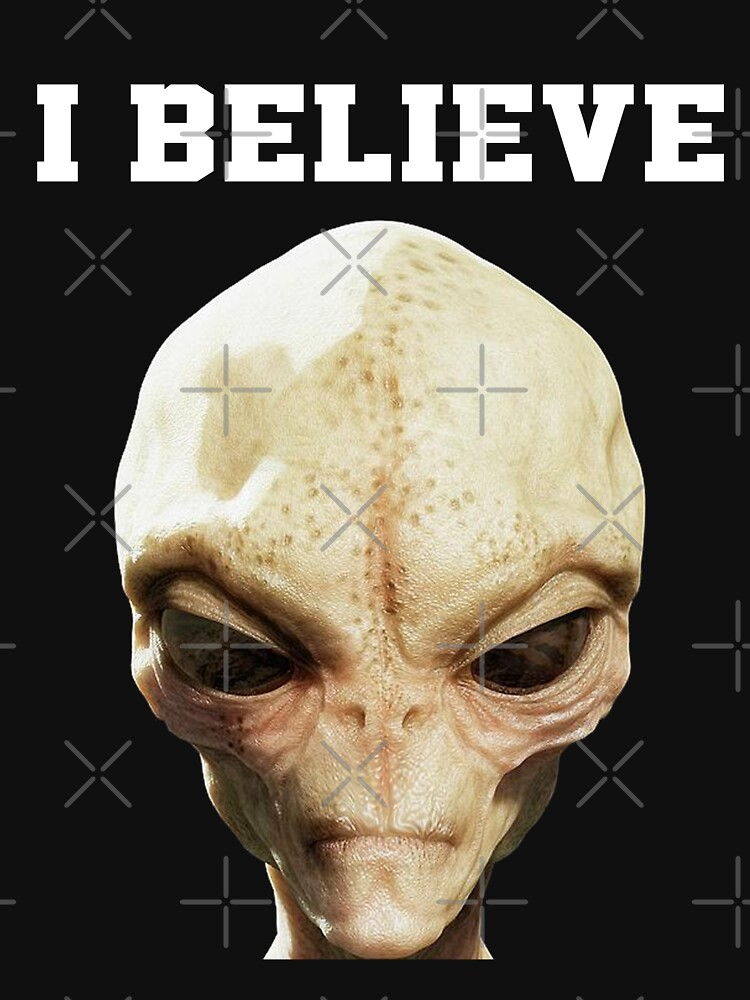 I Believe Alien Design  by Mbranco