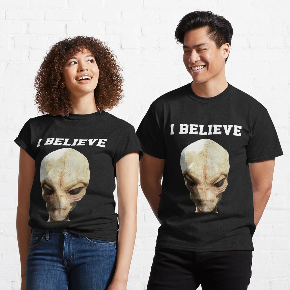 I Believe Alien Design  Classic T-Shirt