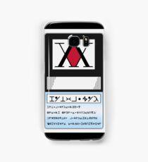 HUNTER LICENSE For Android - Hunter x Hunter  Samsung Galaxy Case/Skin