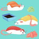 Sushi Rats! by Cici Luna