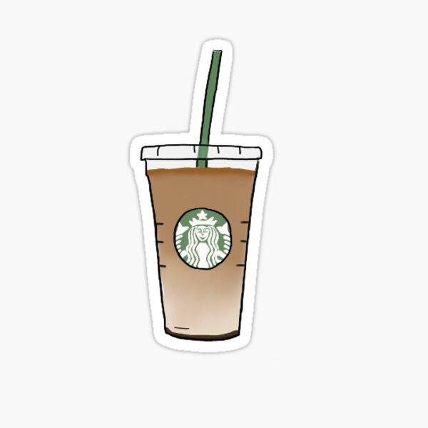Café Starbucks Sticker
