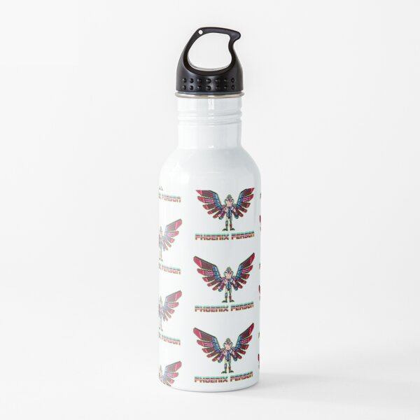 Phoenix Person Water Bottle