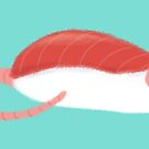 Tuna Sushi Rat by Cici Luna
