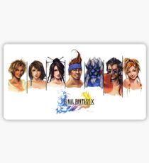 Final Fantasy X Characters Sticker