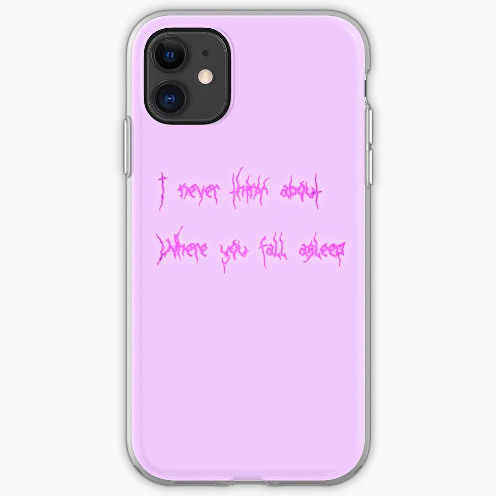 aesthetic sad quote iphone case cover by cherrygloss redbubble