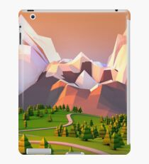 Polygon Mountain iPad Case/Skin