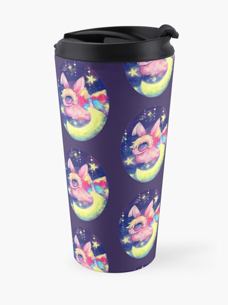Alternate view of Mythical Bunny Travel Mug