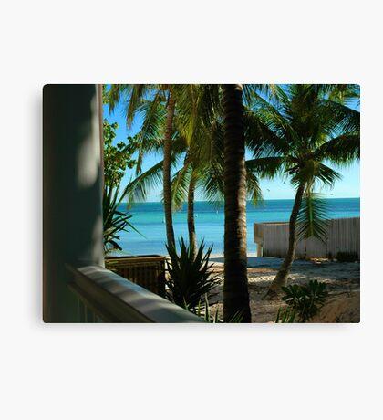 Louie's Backyard, Key West Florida Canvas Print