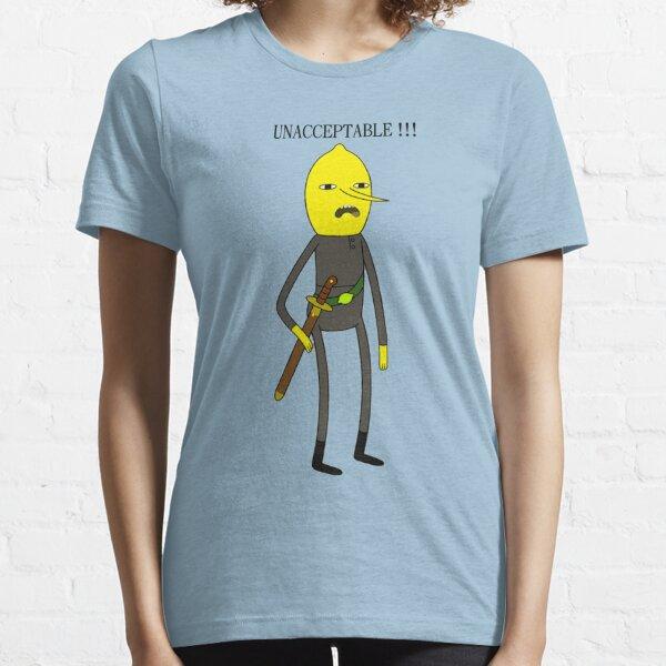 Earl of Lemongrab ~ Unacceptable  Essential T-Shirt