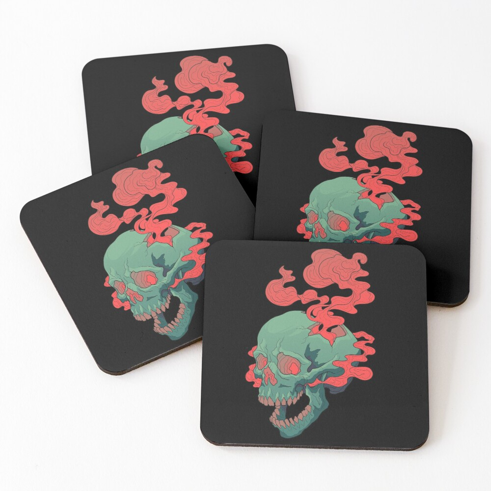 The Thinker Coasters (Set of 4)