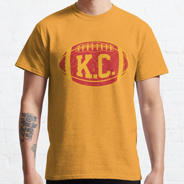 KC Retro Football - Yellow Classic T-Shirt